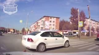09.06.2018 ДТП Ачинск. ул Мира. Момент аварии.