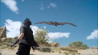 Final Fantasy 15 - Hunts - Feathered Giant of the Firesmoke (Zu)