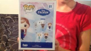 Briley's Pop! Anna doll box opening, Star Wars Luke Skywalker Pop! With missing hand & lightsaber