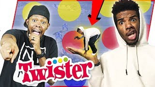 HILARIOUS TWISTER CHALLENGE! HE TWERKED FOR $100!!