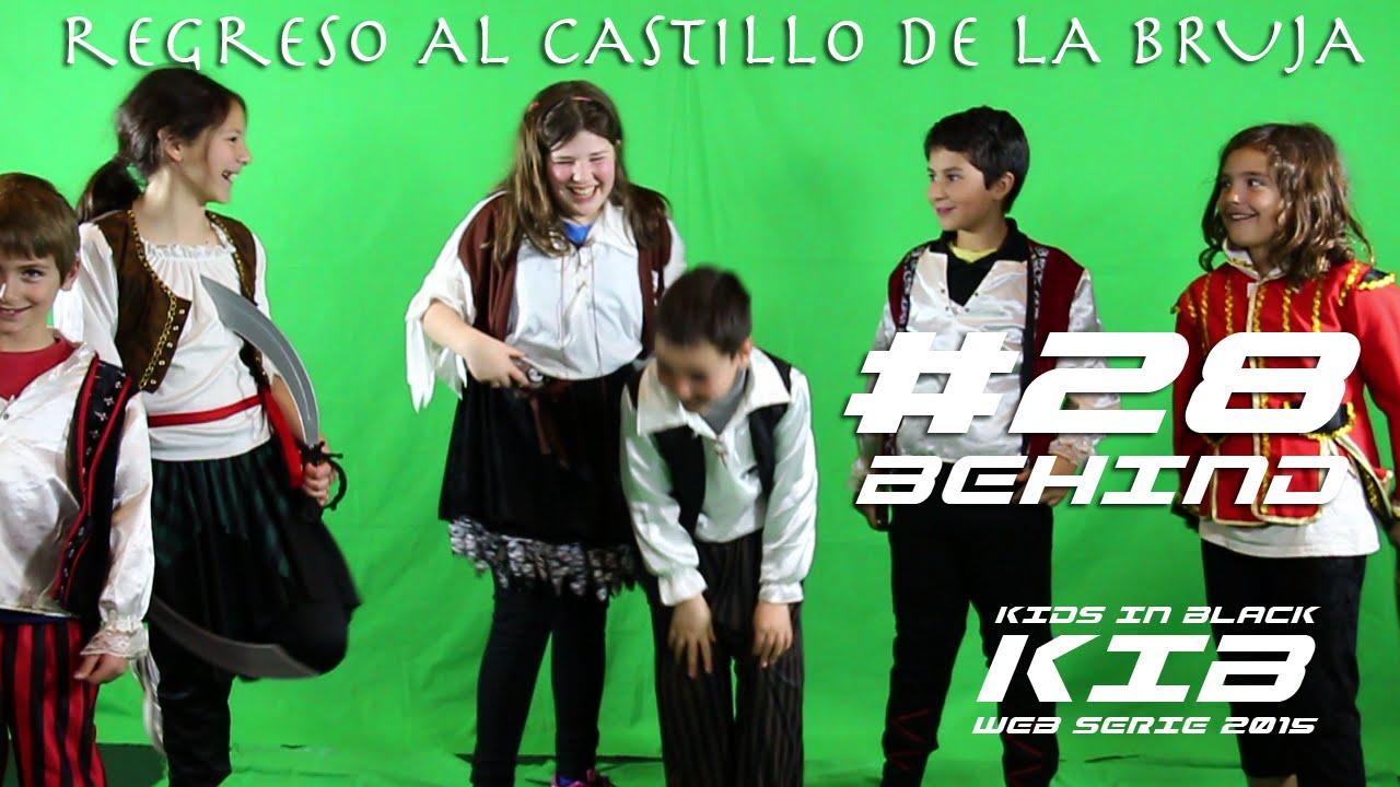 Regreso al Castillo de la Bruja - Kids In Black 2015 - Detrás de las cámaras #28