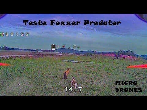 Teste Foxxer Predator