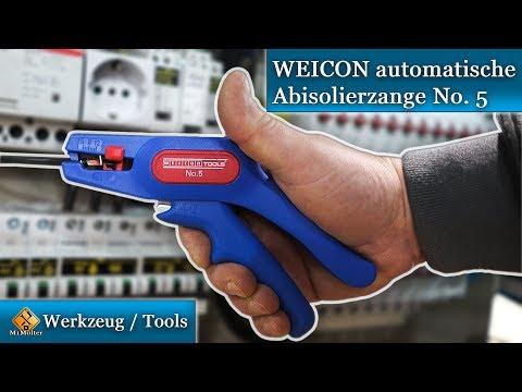 WEICON automatische Abisolierzange No. 5  / Review & Test