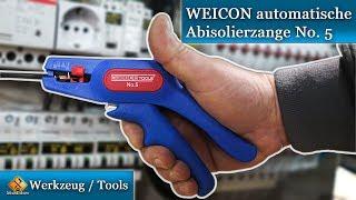 Kabel Abmantelwerkzeug - WEICON automatische Abisolierzange No. 5  / Review & Test