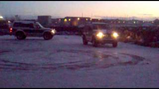 preview picture of video 'pajero drifting ish'