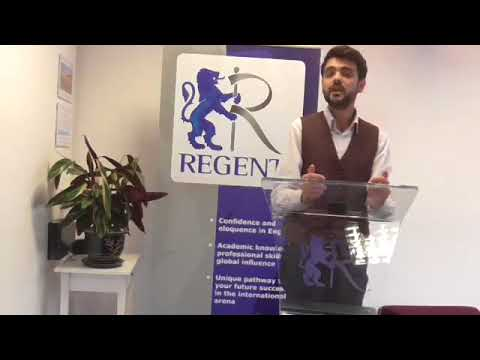 Hasan's experience of Regent Oxford