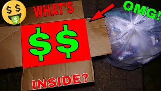 This BOX is Worth THOUSANDS!!! $$$ Dumpster Dive Gamestop Night #513
