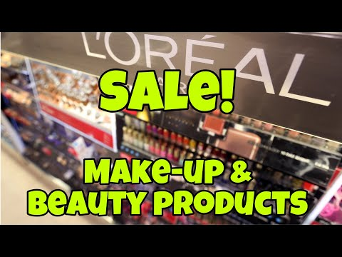 SALE MAKE-UP and BEAUTY PRODUCTS   CENTERPOINT   #DewCTV