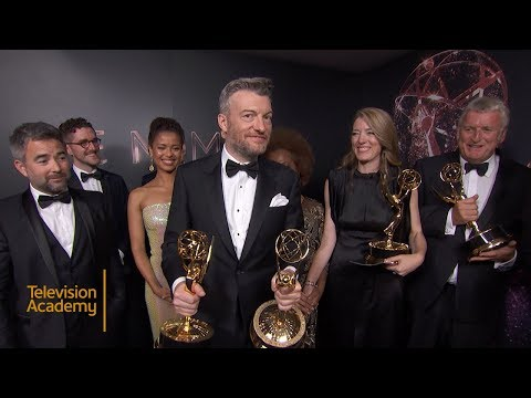 69th Emmy Awards: Backstage LIVE! with the team from Black Mirror: San Junipero.