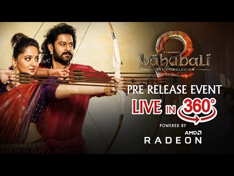 Live - Baahubali 2 Pre Release Event in 360 View