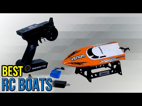 7 Best RC Boats 2017