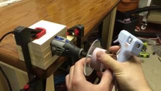 Simple Rotary Tool Lathe