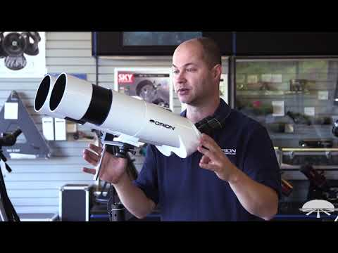 Features of the Orion GiantView BT-100 Binocular Telescope – Orion Telescopes