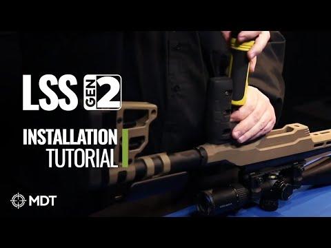 Ложа MDT LSS для карабинов Savage (110/111/112/116) Long Action Video #1