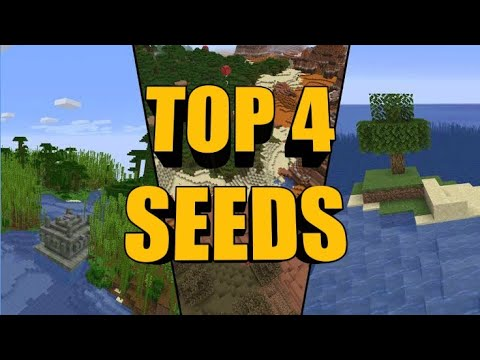 Top 4 Seeds for Minecraft MINECRAFT SEED 1. Max 2.Fire Tornado 3. -658836032 4. Killer