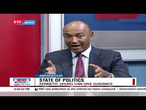 "#NEWSHOUR: ""I believe the real formations for 2022 will come after BBI"", Peter Kenneth 