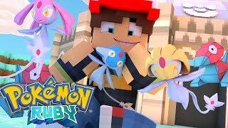 Uxie  - (Pokémon) - Minecraft: Pokemon Ruby - Azelf , Uxie E Mesprit !?! #139