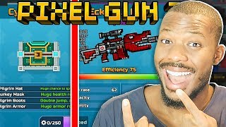 ECKODILE RIFLE + CYBER PILGRIM! | Pixel Gun 3D