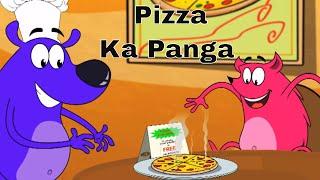 Pizza Ka Panga Ep - 25 - Pyaar Mohabbat Happy Lucky - Hindi Animated Cartoon Show - Zee Kids