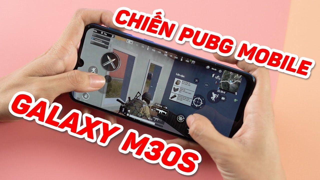 Chơi PUBG Mobile cực đã với Galaxy M30s
