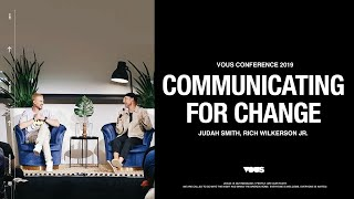 Rich Wilkerson Jr. & Judah Smith — VOUS Conference 2019: Communicating for Change