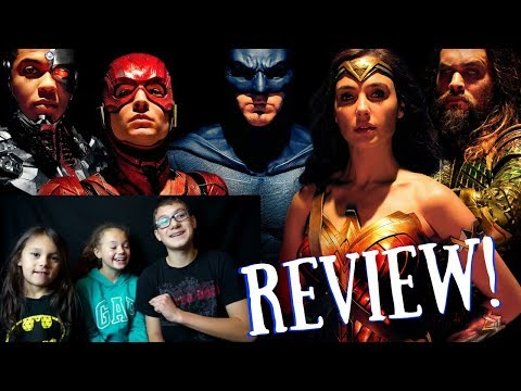 Justice League Movie Review By Kids!!!