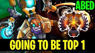 Rushing Top 1! - Abed Tinker - Dota 2