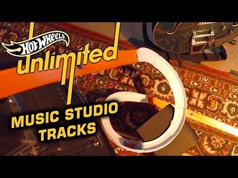 STEPHEN SHARER MUSIC STUDIO TRACKS + HOT WHEELS MUSIC! | Hot Wheels Unlimited | Hot Wheels