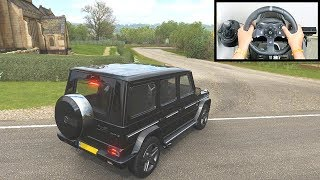 Forza Horizon 4 Mercedes-Benz AMG G 65 G Wagon (Steering Wheel + Paddle Shifter) Off-Road Gameplay