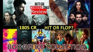 Box Office Collection Of Batti Gul Meter Chalu, Manto, Manmarziyaan, Stree Etc 2018