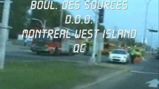 preview picture of video 'SCHOOL BUSES AND CARS ACCIDENT BOUL. DES SOURCES'