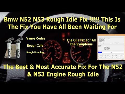 BMW N52 N51 Camshaft Crank Correlation 2A99 2A98 Rough