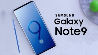 Galaxy Note 9 - Will It Have a Bigger Battery?