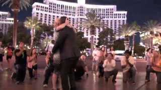 Christelle & Bakary's Proposal Flash Mob  9 26 2014   Las Vegas