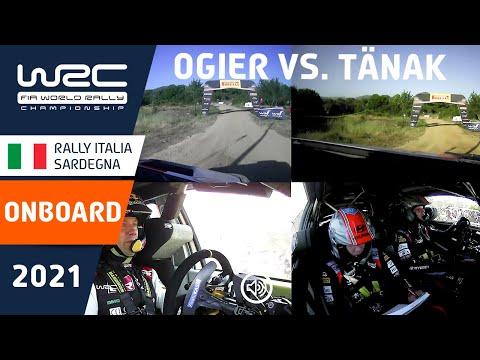 オジェとタナックの走りを徹底比較!WRC 2021 第5戦ラリー・イタリアオンボード比較動画