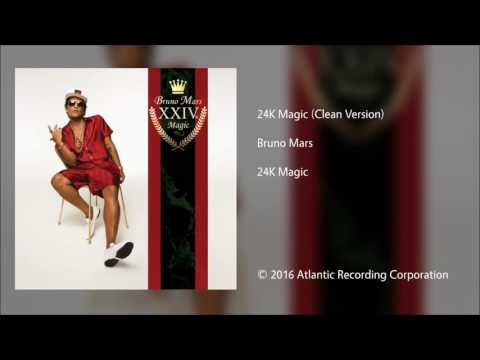 Bruno Mars | 24k Magic (clean) Mp3