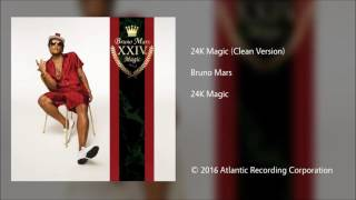 Bruno Mars | 24k Magic (clean)