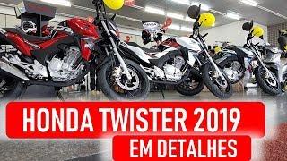 Honda Twister 2019 - Em Detalhes