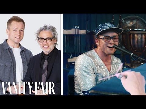 'Rocketman' Director Breaks Down a Scene with Taron Egerton | Vanity Fair