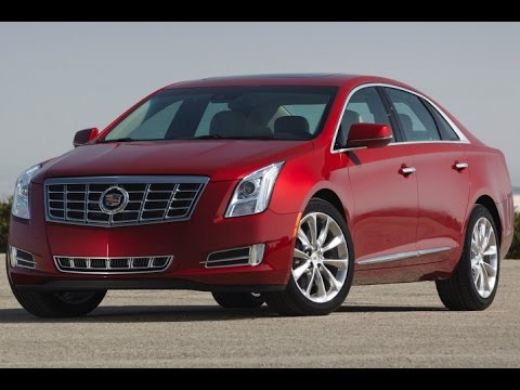 2015 Cadillac XTS Start Up and Review 3.6 L V6