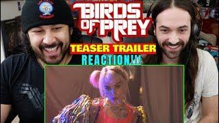 BIRDS OF PREY (2020) - Teaser TRAILER - REACTION!!!