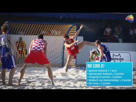Na voorronde NK strandvoetbal nu finale NK strandhandbal in gemeente Dronten