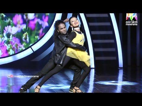 D3 D 4 Dance I Ann Mary & Vineesh - Neeyen kinaavo... I Mazhavil Manorama