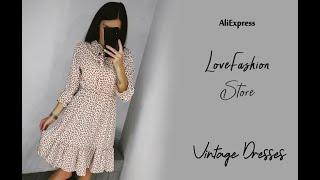 Vintage Dresses / AliExpress LoveFashion