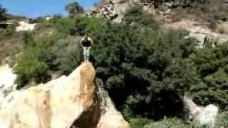 preview picture of video 'اقوى قفزة الماء علاء شحادة في الطبيعة'