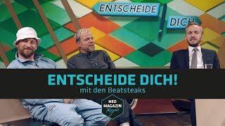 Entscheide dich! mit den Beatsteaks | NEO MAGAZIN ROYALE mit Jan Böhmermann - ZDFneo
