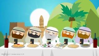 סרטון אנימציה: כרטיס ברכה חג פסח שמח, אגרת לחג לפסח 2016 - חלק 5