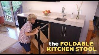 IDĖJA • virtuves balde integruotos kopetėlės (laipteliai)