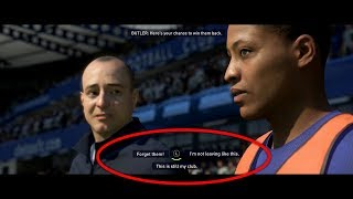 What Happens if Alex Hunter IGNORES this QUESTION? (FIFA 18 The Journey)