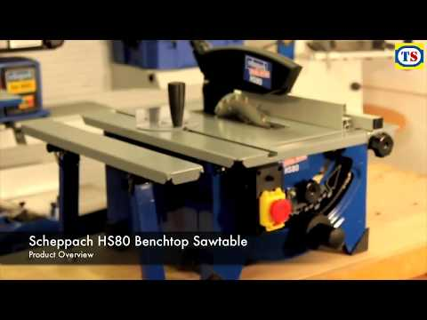 Scheppach HS80 1200W 210mm Table Saw